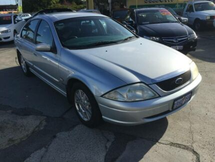 2002 Ford Falcon Auiii Forte Silver 4 Speed Automatic Sedan Beaconsfield Fremantle Area Preview