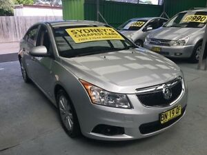 2012 Holden Cruze JH Series II MY12 CD Silver Auto Sports Mode Sedan Five Dock Canada Bay Area Preview