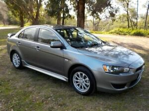 2012 Mitsubishi Lancer CJ MY12 Platinum Grey 6 Speed Constant Variable Sedan Lucknow East Gippsland Preview