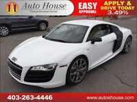 2010 AUDI R8 6 SPEED MANUAL V10 NAVIGATION BACKUP CAMERA