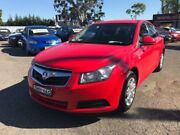 2010 Holden Cruze JG CD Red 6 Speed Automatic Sedan Lansvale Liverpool Area Preview