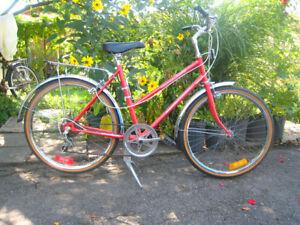 velo vintage 24in hybride fille Supercycle vintage ado bike