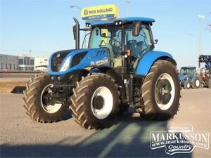 New Holland T7.245 MFWD Tractor - Powershift, LED's, REDUCED!