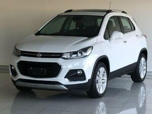 2018 Holden Trax TJ MY18 LTZ White 6 Speed Automatic Wagon Ashmore Gold Coast City Preview