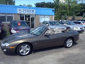 2001 Jaguar XK Series XK8 Fully Certified!