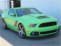 2014 Ford Mustang ROUSH Stage3 6Speed Leather 5.0L Supercharged!