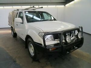 2012 Nissan Navara D40 MY11 RX (4x4) White 6 Speed Manual Kingcab Albion Brimbank Area Preview
