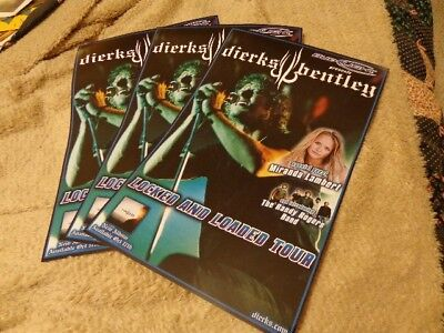 Dierks Bentley   Miranda Lambert  Three Identical 11X17 Concert Posters
