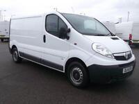 Vauxhall Vivaro 2900 2.0 CDTI 115PS H1 LWB VAN DIESEL MANUAL WHITE (2014)