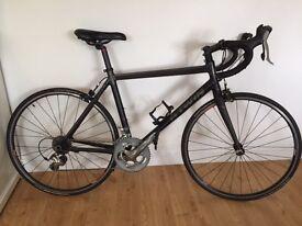 B'Twin Triban 7 bicycle in black