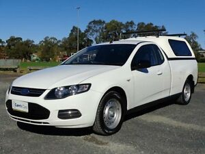 2012 Ford Falcon FG MkII EcoLPi White 6 Speed Automatic 2D Cab Chassis Erina Gosford Area Preview