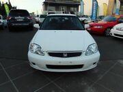 2000 Honda Civic GLi White 5 Speed Manual Sedan Greenslopes Brisbane South West Preview