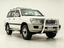 2004 Toyota Landcruiser 100 GXL White 5 Speed Automatic Wagon Chermside Brisbane North East Preview
