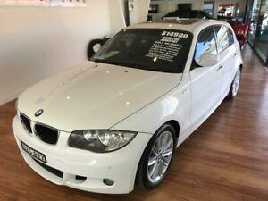 2011 BMW 118i E87 MY11 White 6 Speed Automatic Hatchback Batemans Bay Eurobodalla Area Preview