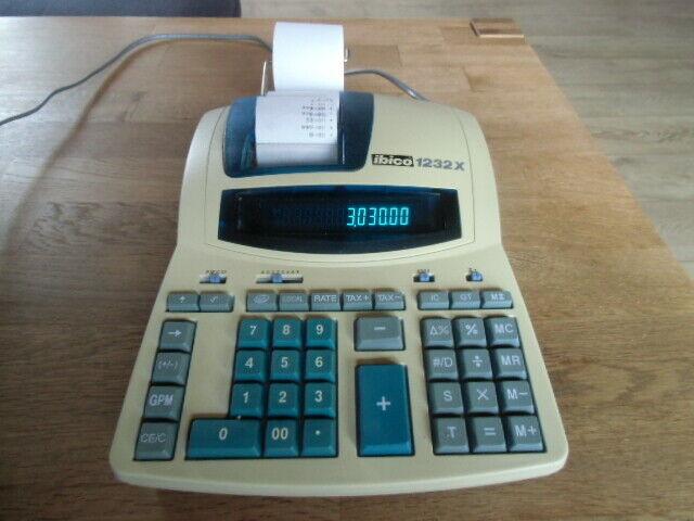 ibico druckender Tischrechner 1232X