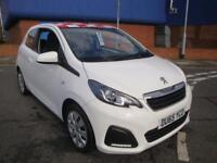 65 PEUGEOT 108 ACTIVE 3 DOOR *WHITE* TAX EXEMPT
