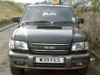 2000 ISUZU TROOPER 3.0 TD Citation 7 seat. BACK SOON