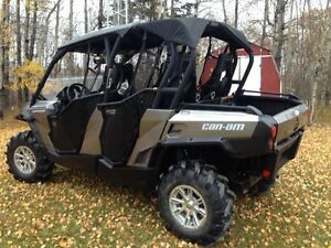 2014 Can Am Max XT 4 seater side by side