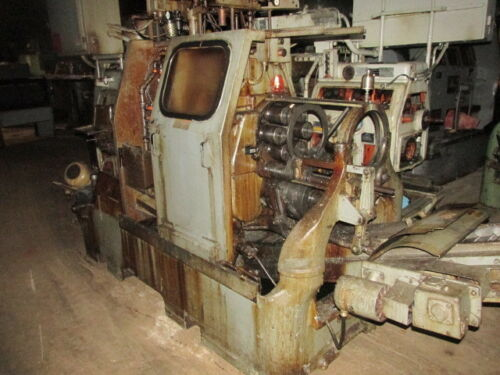 """Acme Gridley National Acme Co. 9/16"""" RAN 6 spindle Pick-off/Back-finish"""