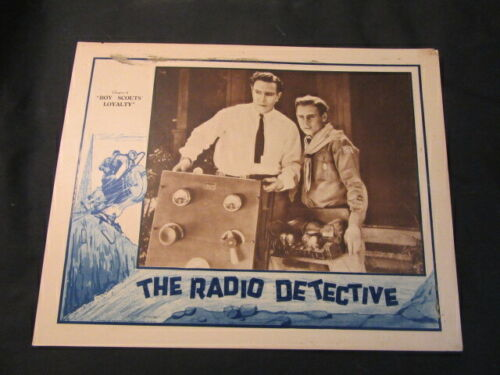 """The Radio Detective Chapter 4  """"Boy Scouts Loyalty"""" 1926 Poster"""