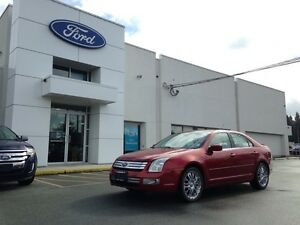 2007 Ford Fusion SEL AWD with Heated Seats, Leather Interior and