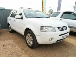 2005 Ford Territory SX Ghia AWD White 4 Speed Sports Automatic Wagon Minchinbury Blacktown Area Preview