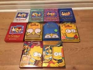 The Simpsons - 10 complete seasons - DVD Collector's Edition