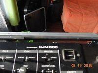 DJM500 MIXER PIONEER