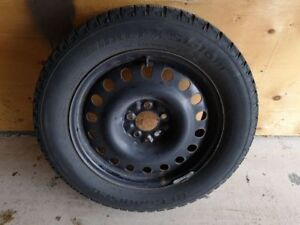 Winter tires and rims with TPS for sale