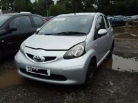 TOYOTA AYGO 2007 BREAKING FOR SPARES TEL 07814971951 HAVE FEW IN STOCK