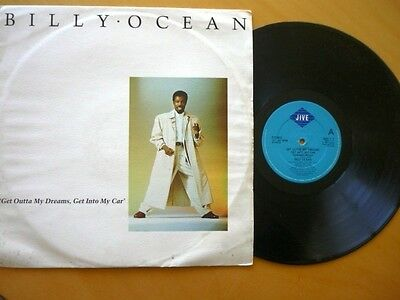 "BILLY OCEAN = GET OUTTA MY DREAMS,GET INTO MY CAR /SHOWDOWN - EXCELLENT12"" VINYL"