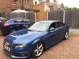 Audi A4 2.0 S-Line 2008 Full 12 months MOT and Full Audi service completed
