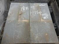 RECLAIMED ROOFING SLATES 18x9