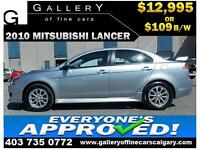 2010 Mitsubishi Lancer SE $109 bi-weekly APPLY NOW DRIVE NOW
