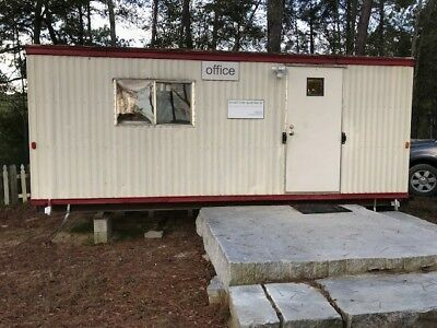 Mobile Modular Construction Office Trailer 8x 24.