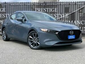 2019 Mazda 3 BP2HLA G25 SKYACTIV-Drive GT Grey 6 Speed Sports Automatic Hatchback Bayswater Bayswater Area Preview