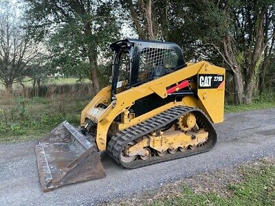 2015 Caterpillar Cat 279d Skid Steer Loader - Joysticks - 2 Speed - New Track