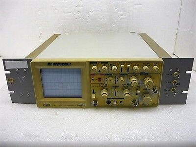 Bk Precision 2190b 100mhz Dual Trace Analog Oscilloscope - Ships Today - Tested
