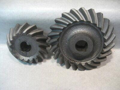 John Deere Tractor Model H Set Of Original Governor Gears