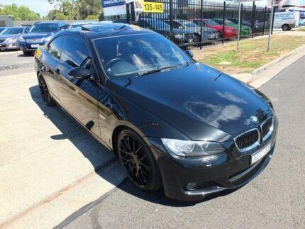 2009 BMW 323I E92 MY09 Black 6 Speed Auto Steptronic Coupe Werribee Wyndham Area Preview