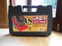 SAS Wheel Clamp with Carry Case