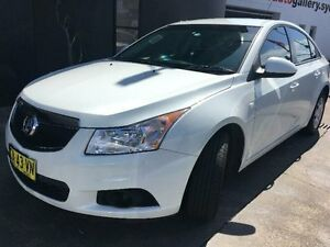 2012 Holden Cruze JH Series II CD White Sports Automatic Sedan Concord Canada Bay Area Preview