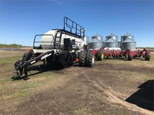 2014 Bourgault 3320 and 2014 L6550ST Combo