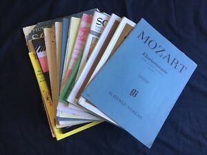 Assorted Piano Sheet Music Cottesloe Cottesloe Area Preview
