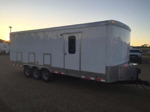 REDUCED-2009 Forest River Enclosed Trailer -24' X 8' -