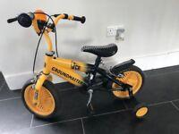 JCB Groundmaster Bike with Stabilisers (Worth £50)