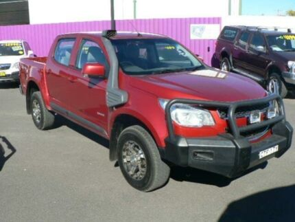 2014 Holden Colorado RG MY14 LX (4x4) Red 6 Speed Manual Crew Cab Pickup Dubbo Dubbo Area Preview
