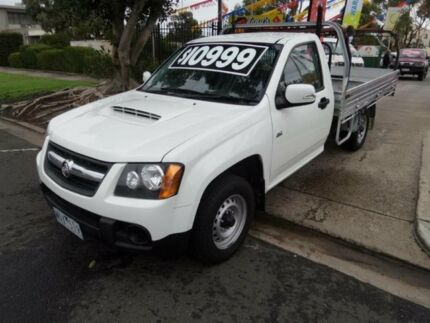 2008 Holden Colorado RC MY09 LX (4x2) White 5 Speed Manual Cab Chassis Maidstone Maribyrnong Area Preview