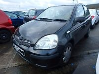 TOYOTA YARIS BREAKING FOR PARTS,THIS ADD FOR ENGINE PARTSFROM LOW MILEAGE CAR. 2001-2005