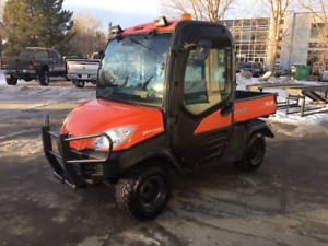 ONLY $129 BI-WEEKLY! KUBOTA RTV 1100, WITH CAB, HEAT AND A/C!!